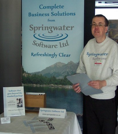 Promoting the services from Springwater Software